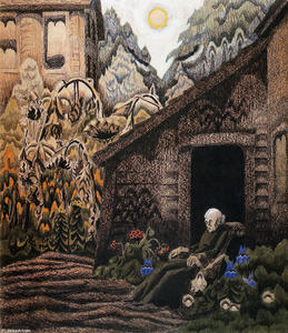 Charles Ephraim Burchfield - Garden Of Memories