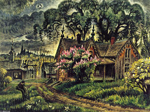 Charles Ephraim Burchfield - Lavender And Old Lace