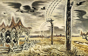 Charles Ephraim Burchfield - Song Of The Telegraph