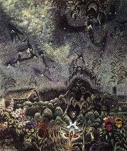 Charles Ephraim Burchfield - The Sphinx And The Milky Way
