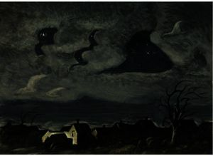 Charles Ephraim Burchfield - Wind In The Night