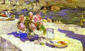 Konstantin Alekseyevich Korovin - On a Sea Shore