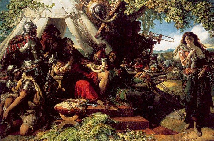 http://en.wahooart.com/Art.nsf/O/8LHQQ9/$File/Daniel-Maclise-King-Cophetua-and-the-Beggarmaid.JPG