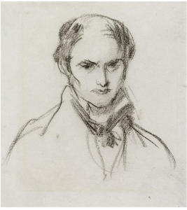 Daniel Maclise - Self-portrait