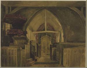 David Cox - Beckenham Church, Kent