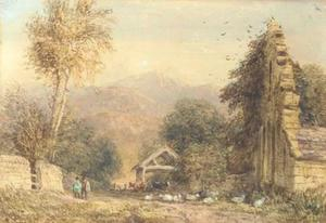 David Cox - Cader Idris From Kymmer Valley, North Wales