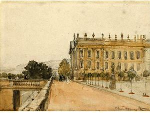 David Cox - Chatsworth House, Derbyshire