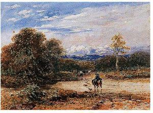 David Cox - Crossing The Ford