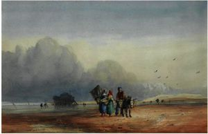 David Cox - Fort Rouge, Normandy