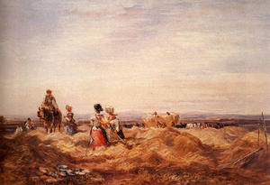David Cox - In The Hayfield