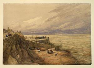 David Cox - Lynmouth Harbour