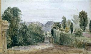 David Cox - Powis Castle
