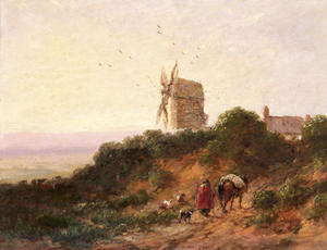 David Cox - The Road To The Mill