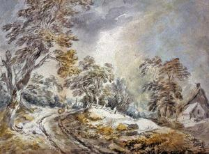 David Cox - Winter Landscape