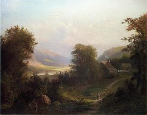 David Johnson - Hudson River Scene