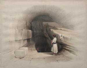 David Roberts - Fountain Of Siloam, Valley Of Jehoshaphat