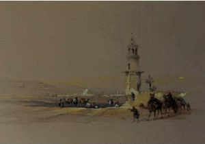 David Roberts - Siout, Upper Egypt