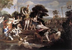 Domenichino (Domenico Zampieri) - Diana and her Nymphs