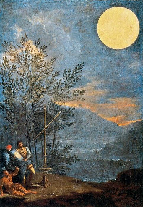 Astronomical Observations. The Sun by Donato Creti (1671-1749, Italy) | Art Reproduction | WahooArt.com