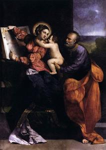 Dosso Dossi (Giovanni Di Niccolò De Luteri) - The Holy Family