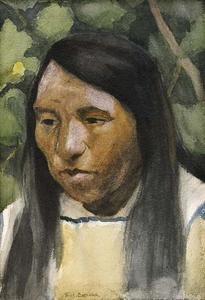 Eanger Irving Couse - Indian Portrait