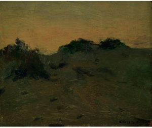 Eanger Irving Couse - Weeded Dune