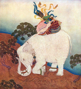 Edmund Dulac - The Pearl of the Elephant