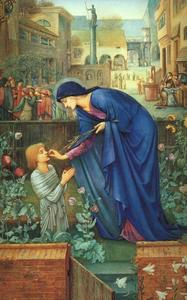 Edward Coley Burne-Jones - The Prioress- Tale