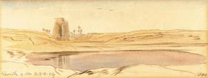 Edward Lear - Karnak - Upper Egypt