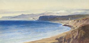 Edward Lear - View Of Arenzano From Voltri, Near Genoa