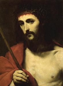 Jusepe De Ribera (Lo Spagnoletto) - Christ with crown of thorns