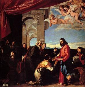 Jusepe De Ribera (Lo Spagnoletto) - Communion of the Apostles