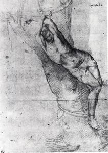 Jusepe De Ribera (Lo Spagnoletto) - Man tied to a tree