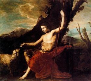 Jusepe De Ribera (Lo Spagnoletto) - St. John the Baptist in the deser
