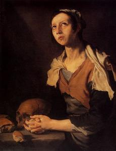 Jusepe De Ribera (Lo Spagnoletto) - St. Mary of Egypt 1