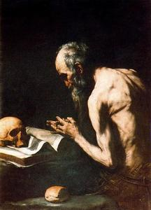 Jusepe De Ribera (Lo Spagnoletto) - St. Paul the hermit