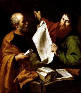 Jusepe De Ribera (Lo Spagnoletto) - St. Peter and St. Paul