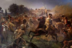 Emanuel Gottlieb Leutze - Washington Rallying the Troops at Monmouth