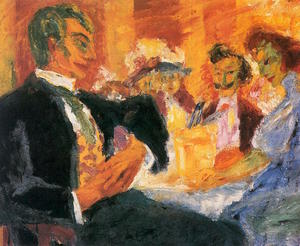 Emile Nolde - At the Cafe