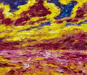 Emile Nolde - Autumn Sea