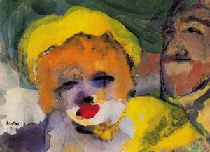 Emile Nolde - Blonde Girl and Man
