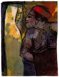 Emile Nolde - Dark Man and Woman