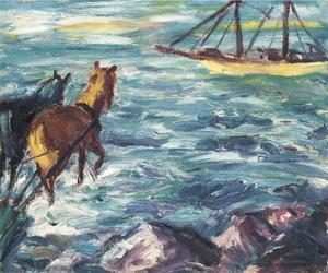Emile Nolde - Embarkation