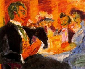 Emile Nolde - In the coffee