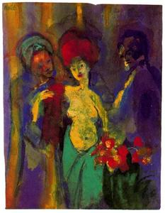 Emile Nolde - In the Dressing Room