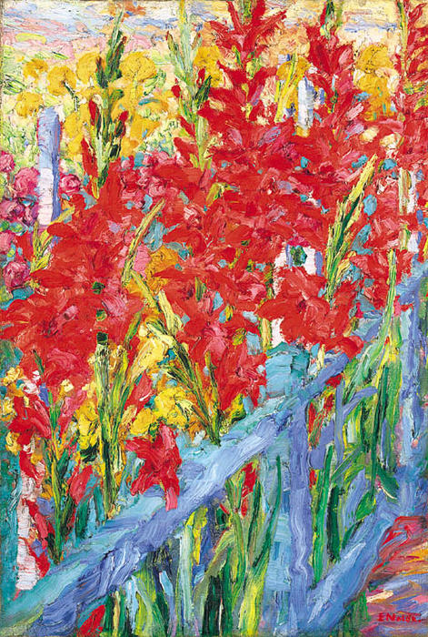 Irises by Emile Nolde (1867-1956, Germany) |  | WahooArt.com