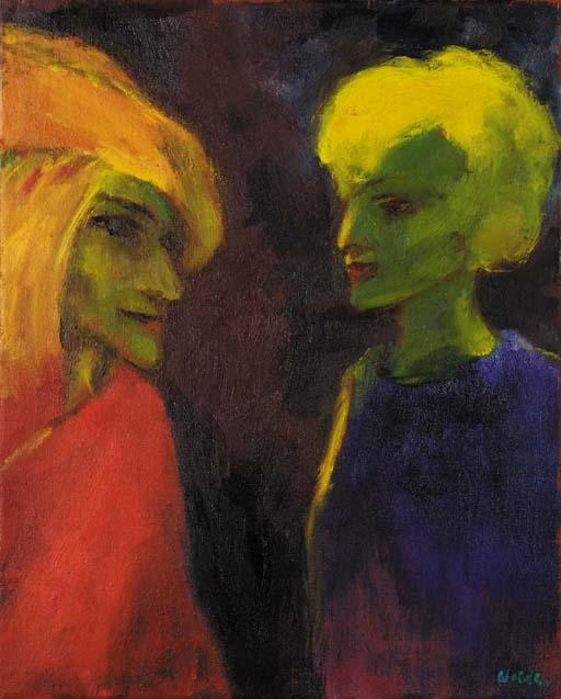 Light magic by Emile Nolde (1867-1956, Germany) | Oil Painting | WahooArt.com