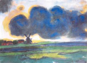 Emile Nolde - Marsh windmill