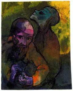 Emile Nolde - Old Man and Woman