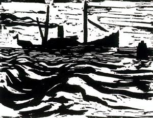 Emile Nolde - Steam trawler